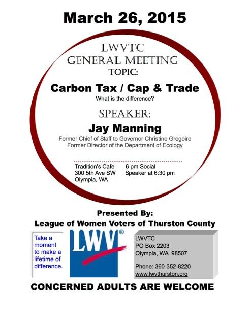 LWVTC MARCH 2015