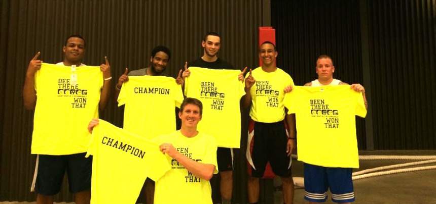 The Senior Citizens win the Pro League intramural basketball championship
