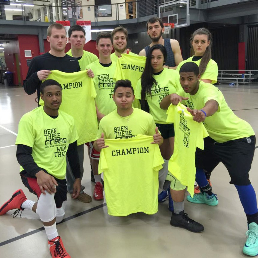 The Kingdom takes the Rec League intramural basketball championship