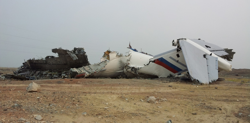 Mirny_plane_crash_04